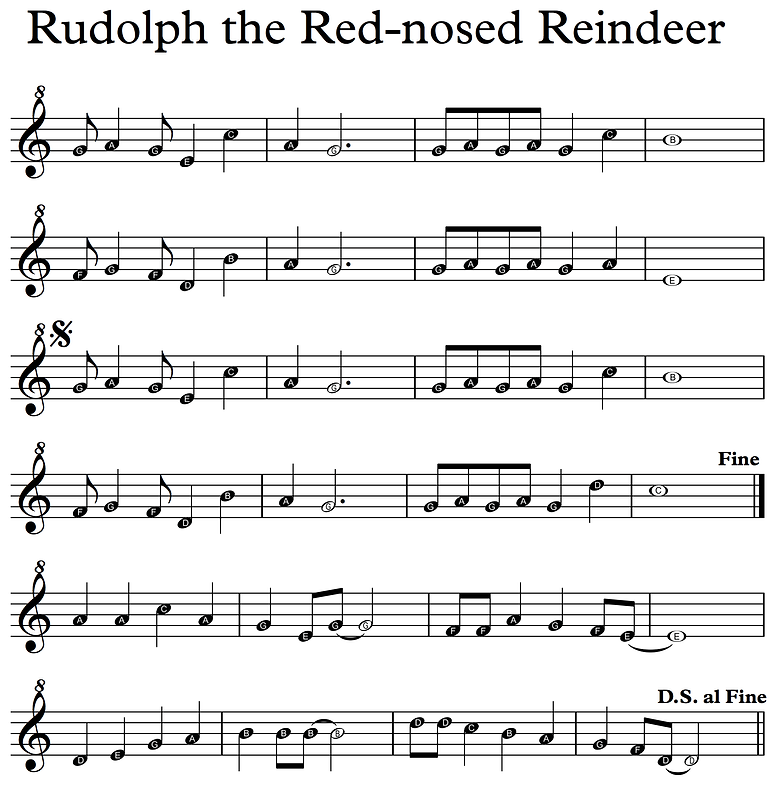 Rudolph - Descant Recorder letters.png