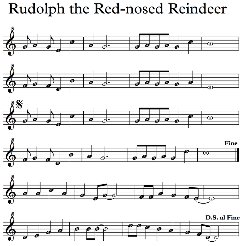 Rudolph - Descant Recorder letters.png