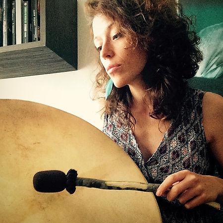Cercle de tambour Paris Olivia Meeus