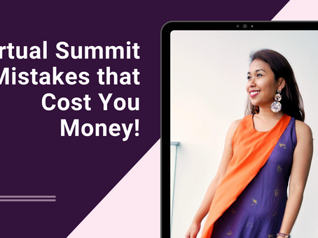 Top Virtual Summit Mistakes that Cost You Money