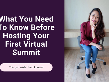 What You Need To Know Before Hosting Your First Virtual Summit