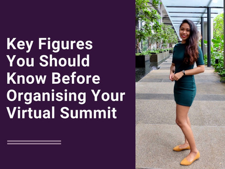 Key Figures You Should Know Before Organising Your Virtual Summit