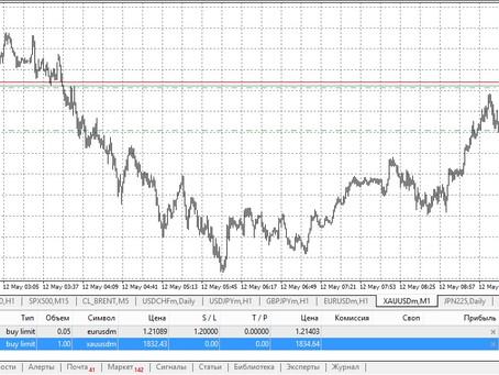 Сделка по золоту (12.05.21)