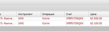 Сделка по доллар/рубль (05.02.20)