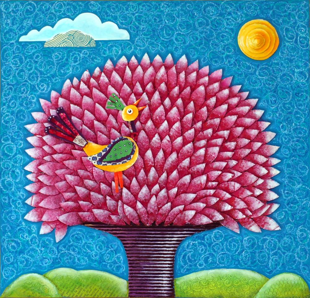 """L'oiseau, qui tous les matin chantait pour la fleur, se questionna: """"Que se passe-t-il? La fleur s'est endormie parce que la maison a fermé se yeux parce que le chat ne ronronne plus parce que l'enfant ne parle plus?"""