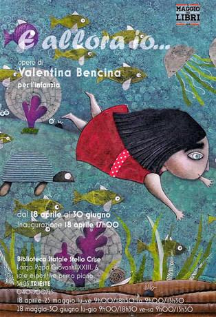 Affiche expo biblioteque Stelio Crise di Trieste, 2017.j