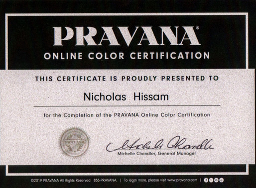 Pravana Color Certified!