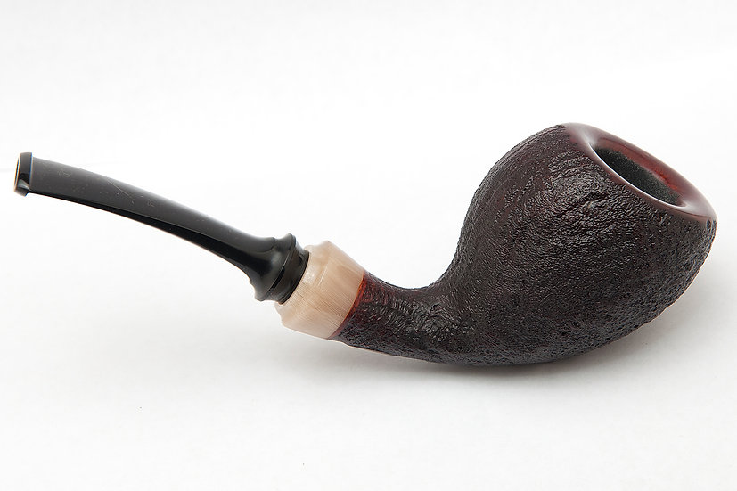Sandblasted Pear with Horn