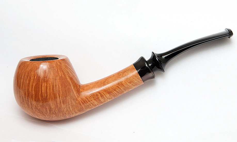 SMOOTH VIRGIN BENT APPLE with HORN