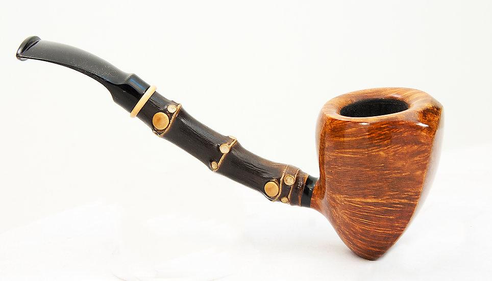 Smooth Acorn w/Black Bamboo