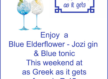 Greekblue...Blue gin