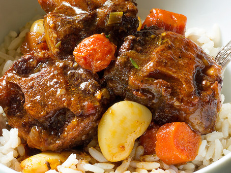 Rainy weather = Braised Oxtail