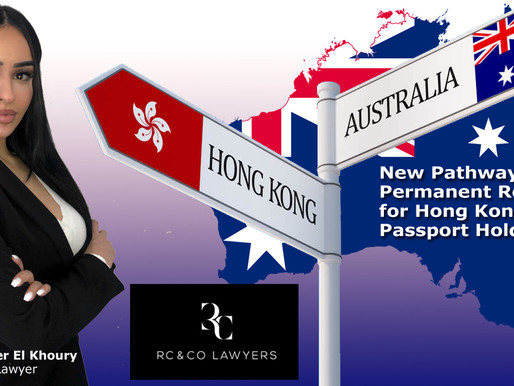 New Pathway to Permanent Residency for Hong Kong Passport Holders