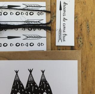 invitationsfor a boysbaby shower showcasinga woodlands adventurer theme.   printing. the big picture graphic designer. jessica barr