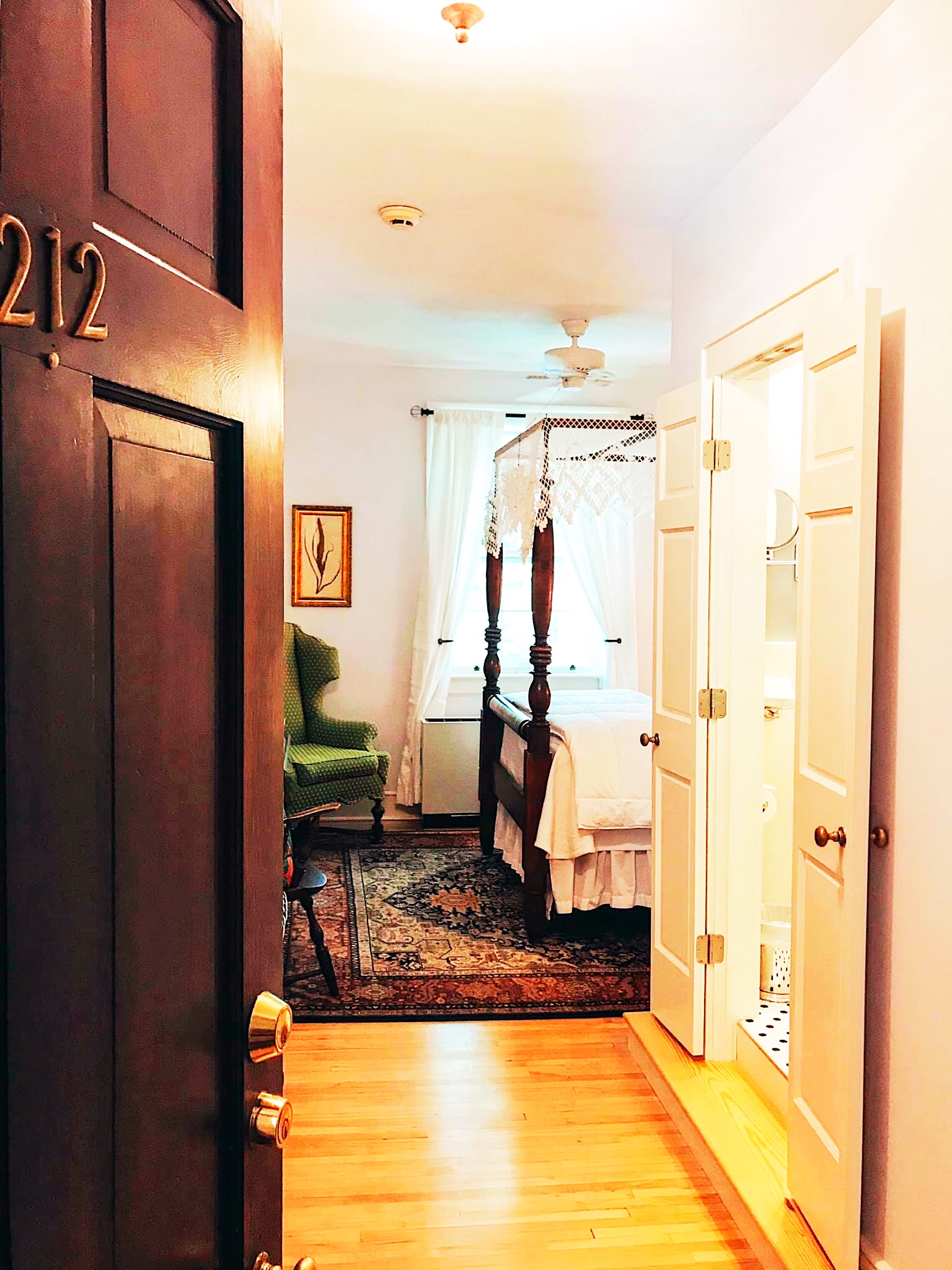 Room 212 Door