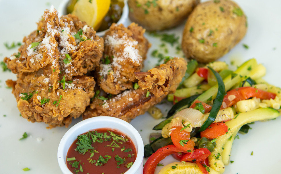 Local, sweet tea-brined fried chicken