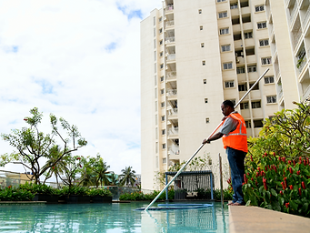 Swimming Pool Maintenance Services at Uniservice Facility Management Services