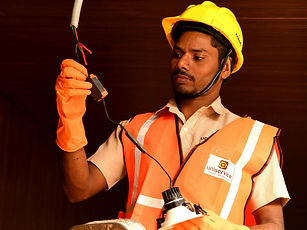 Electrical Maintenance works at Uniservice Facility Management Services