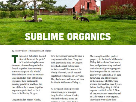 Check out Sublime Organics Featured in Life Source Magazine!