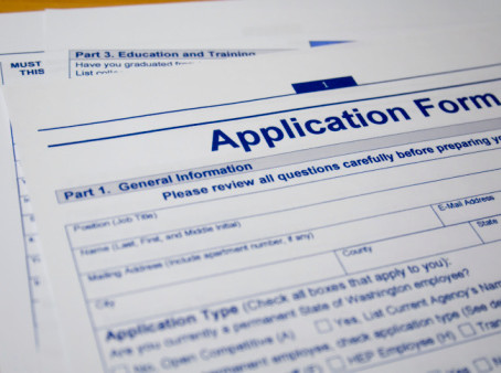 Applying to Graduate School in the U.S. : Important Documents