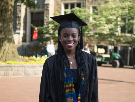 Interview with Deborah Ofori: 2017 Master of Science in Foreign Service (MSFS) Africa Scholar
