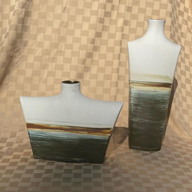 Hand Painted Porcelain Vases