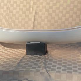 Glazed Boat Vase