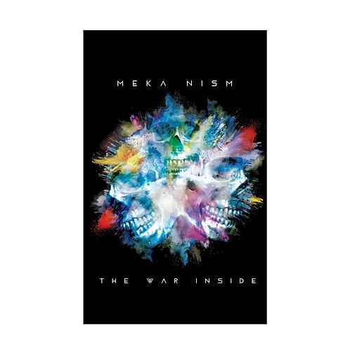 """Meka Nism """"The War Inside"""" Signed Poster"""