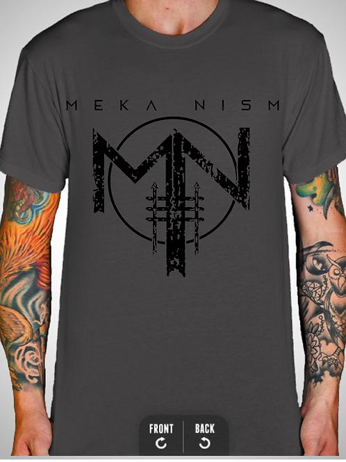 """Meka Nism """"Logo"""" Grey Tee"""