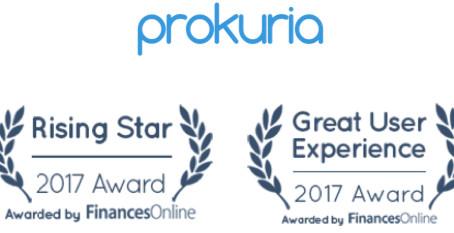 Prokuria Receives Great User Experience Award