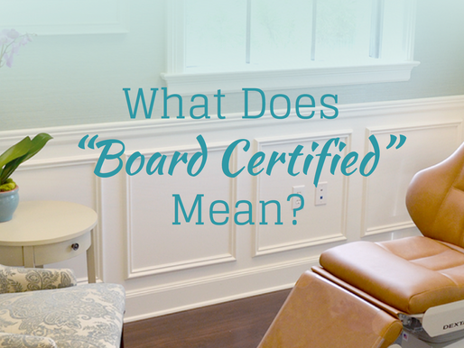 """What does """"Board Certified"""" Mean?"""