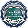 Board Certified Facial Plastic Surgeon - American Board of Facial Plastic and Reconstructive Surgery ABFPRS logo