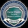 Board Certified Facial Plastic Surgeon - American Board of Facial Plastic and Reconstructive Surgery ABFPRS logo