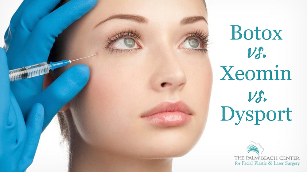 Botox vs. Xeomin vs. Dysport