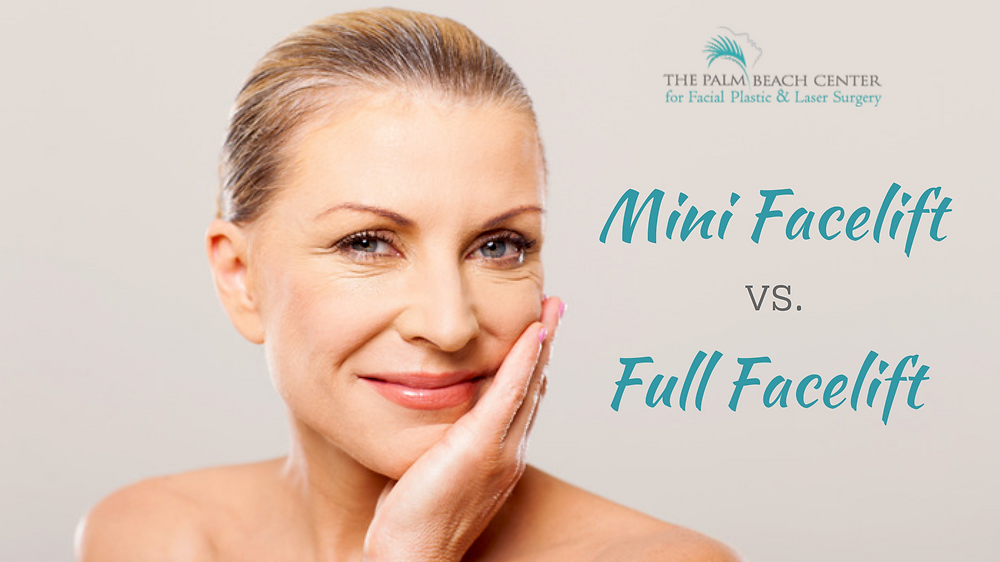 Mini Facelift vs Full Facelift
