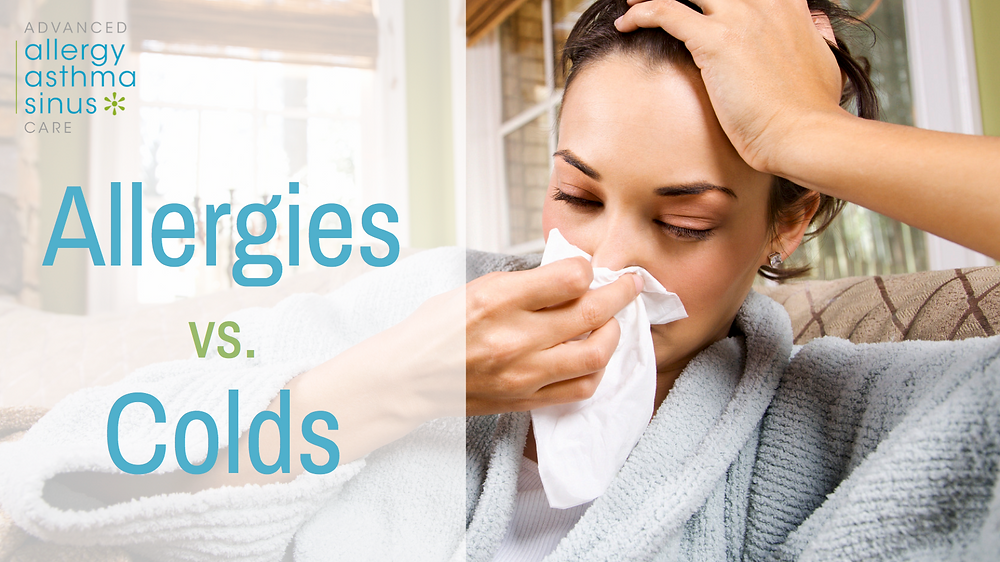 Allergies vs Colds