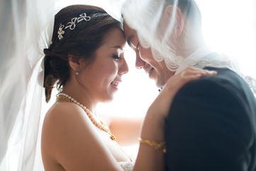 Indian wedding photography in Dubai - Bridal photo shoot during wedding ceremony