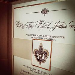 Elegant booklet #handmade #wedding #invitation #theseptemberrose