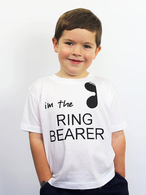 """I'm The Ring Bearer"" Tee"
