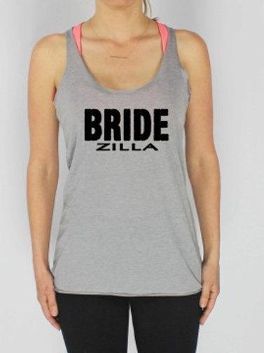 """""""Bride Zilla"""" Tank"""