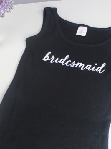 """Bridesmaid"" Tank"