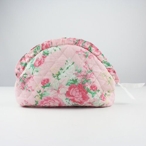 Floral Personalized Cosmetic Case