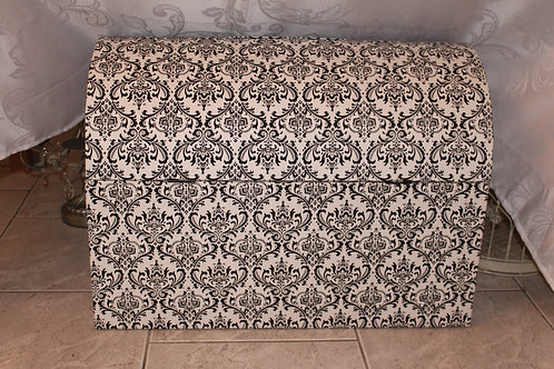 Envelope Holder Trunk Rental (Blk & Wht Damask)