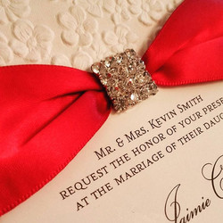 Love this #embossed paper adds #texture and dimension #custom #invitation #theseptemberrose #customi