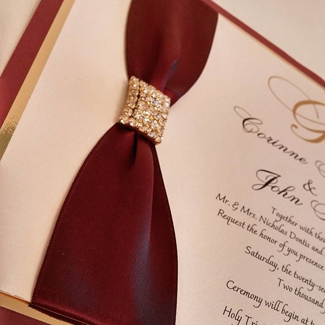 #theseptemberrose #autumn #fallcolors _#custominvitations #luxuryinvitations #handmadeinvitations_#w