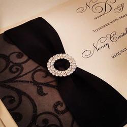 #theseptemberrose #blackandwhite_#custominvitations #luxuryinvitations #handmadeinvitations_#wedding