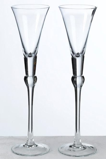 Crystal Toasting Flutes
