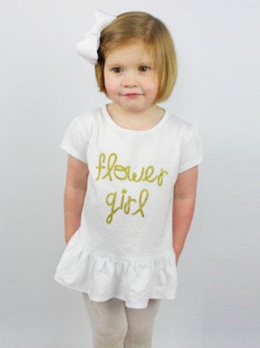 """""""Flower Girl"""" Shirt"""