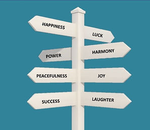 Happiness, Luck, Power, Harmony, Peacefulness, Joy, Success, Laughter