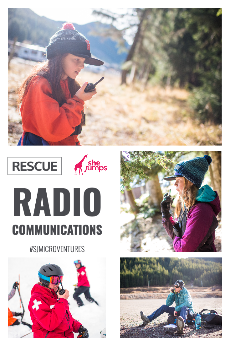 rescue radio communications Pinterest image